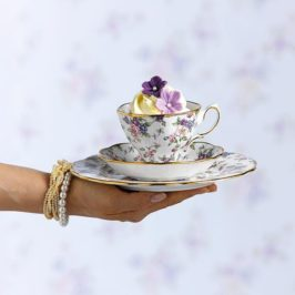 ¿Vas a limitarte solamente a tomar té?