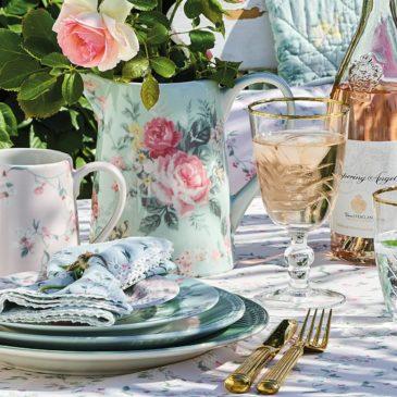 Refrescantes mesas de verano