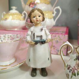 Set de té Royal Albert y los Ángeles de la ilusión